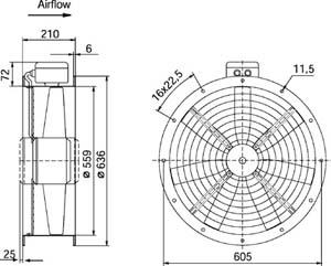 Рекомендации по применению:Вентиляторы AR - для систем подпора воздуха в системах противопожарной вентиляции.