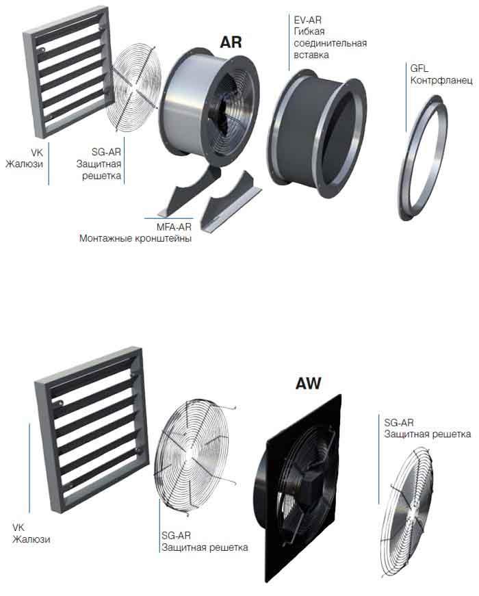 Схема развития электрических сетей мэс.  Схема монтажа осевых вентиляторов.